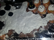 Capcake fantasma Halloween