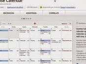 Sunrise Calendar: Chrome gestire calendario