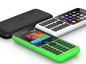 Nokia 215: smartphone cost dollari mese stand-by
