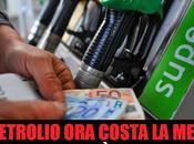 Crolla prezzo petrolio, Italia benzina cara mondo!
