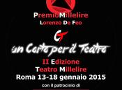 """PREMIO MILLELIRE LORENZO corto teatro"" Gennaio 2015"