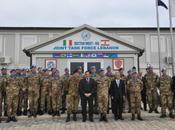 """Libano/ Base """"Millevoi"""". L'On. Rossi, Sottosegretario della Difesa, visita reparti Militari Italiani"""