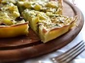 crostata broccoli,patate caciocavallo