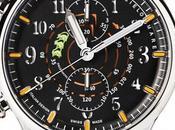 Crono Sorci verdi Mancino, l'orologio celebra gesta coraggiosi piloti degli anni