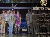 Cavalli Live streaming Uptowngirl Milano Fashion Week