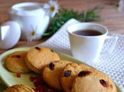 Biscotti bacche goji miele