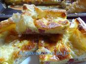Torta salata cotto treccia mozzarella
