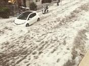 Catania, meteo allarmante: grandine pioggia piegano città, chiuso Fontanarossa