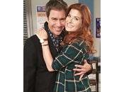 """Will Grace"" foto della reunion Debra Messing Eric McCormack"