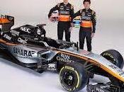Force India VJM08 sospensione posteriore idraulica