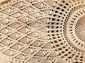 Lavori l'uncinetto: Centro ovale ananas