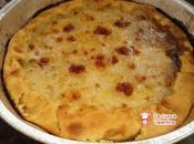 Focaccia rustica crema zucca capperi pancetta