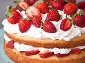 torta fragole panna