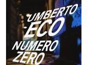 Numero Zero, nuovo romanzo Umberto