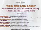 MANI DALLE DONNE, manuale anti stalking, Regione Lombardia, 2015