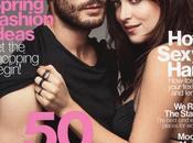 "Jamie Dornan Dakota Johnson FUMATURE GRIGIO"" Glamour Magazine"