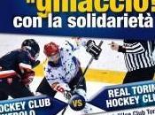 Hockey Ghiaccio: Pinerolo-Real Torino, scende pista solidarietà