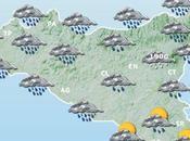 Sicilia: previste intense precipitazioni forti venti tutto week