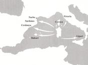 L'espansionismo sardi nuragici Mare Mediterraneo Occidentale (versione aggiornata)