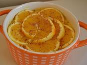 Dolce all'arancia cucchiaio
