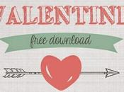 Valentino stampa gratis carte etichette