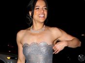Vestito trasparente Michelle Rodriguez