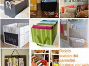 Riciclare cartoni pannolini Riciclo scatole Tutorial