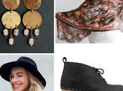 #thingstolove: wear chandelier earrings, brass rose quartz