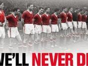 Manchester United, leggenda Busby Babes Febbraio 1958 2015