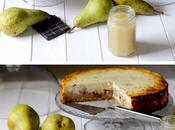 Cheesecake Integrale alle Pere Gocce Cioccolato Fondente