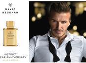 David beckham lancia instinct gold edition fragrance!