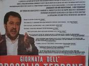 Salvini Palermo:lancio uova Polizia assetto antisommossa