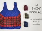 Cartamodello gratuito: Shopper Portovunque
