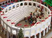 Pompei ricostruita 190'000 mattoncini Lego Sydney