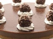 torta biscotto Ferrero Rocher