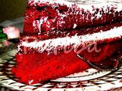 vellutata fiammeggiante Velvet Cake Valentino