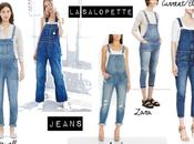 Trend salopette jeans