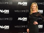 Debutta Agon Channel talk show Luisella Costamagna
