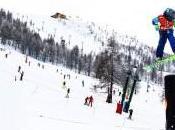 alpino: Sestriere spettacolo Burn Vertical Tour Trofeo Foto Ottica Nino