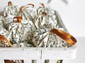 Christmas origami balls