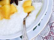 Tapioca mele speziate allo zafferano with spiced saffron apples