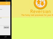 Reversian trasformare testi Android