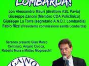 PAVIA. continua parlare nuova sanità Lombardia.