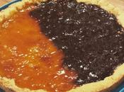 Crostata frolla all'olio, farina riso mais