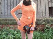 Tangerine Color Look: Tanita Moda Even Langella Bullish