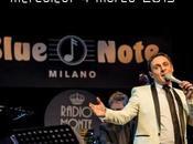 crooner italiano Matteo Brancaleoni torna mercoledi' marzo 2015, prestigioso palco Blue Note Milano.