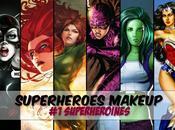 Superheroes Makeup Superheroines/ Firestar