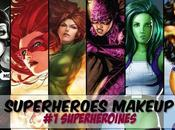 Superheroes Makeup Superheroines/ Firestar