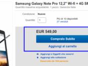 Samsung Galaxy Note 12.2 euro Monclick