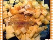 Platessa patate alla paprika dolce